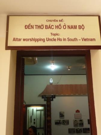 Ho Chi Minh shrine